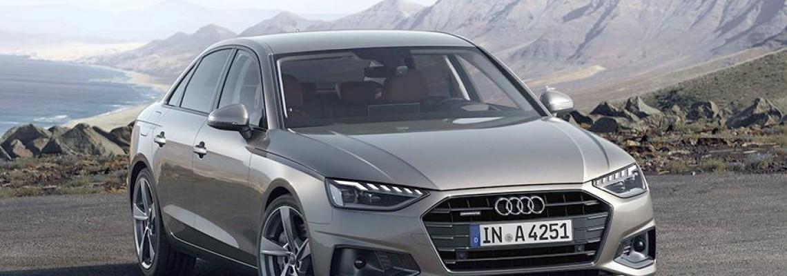 יצרנית הרכב הגרמנית אאודי השיקה משפחת הרכב המעודכנת A4
